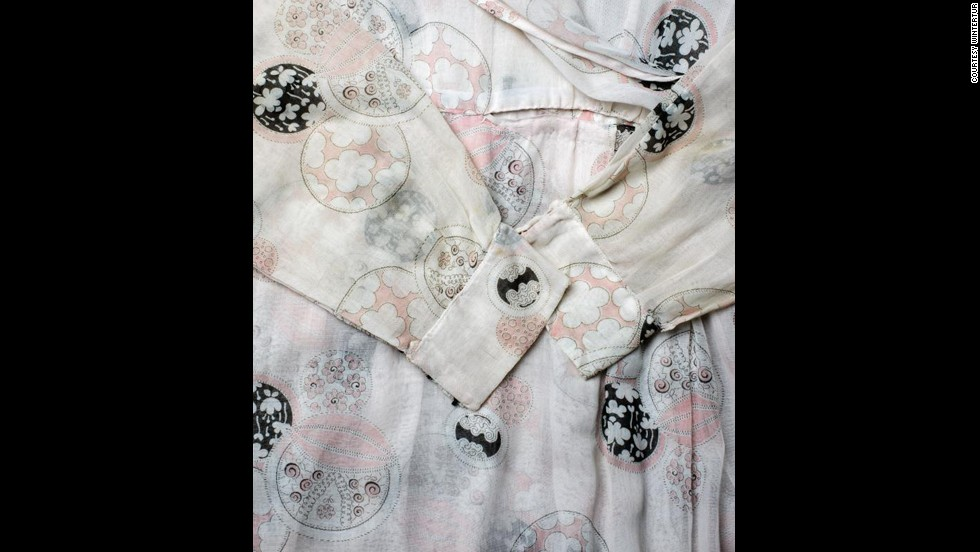 "The delicate cotton print of Lady Cybil's dress ""looks so '60s,"" said Linda Eaton, Winterthur's senior curator of textiles. ""These things keep coming around. They get reinterpreted but the core designs just keep coming around and coming around and coming around."""