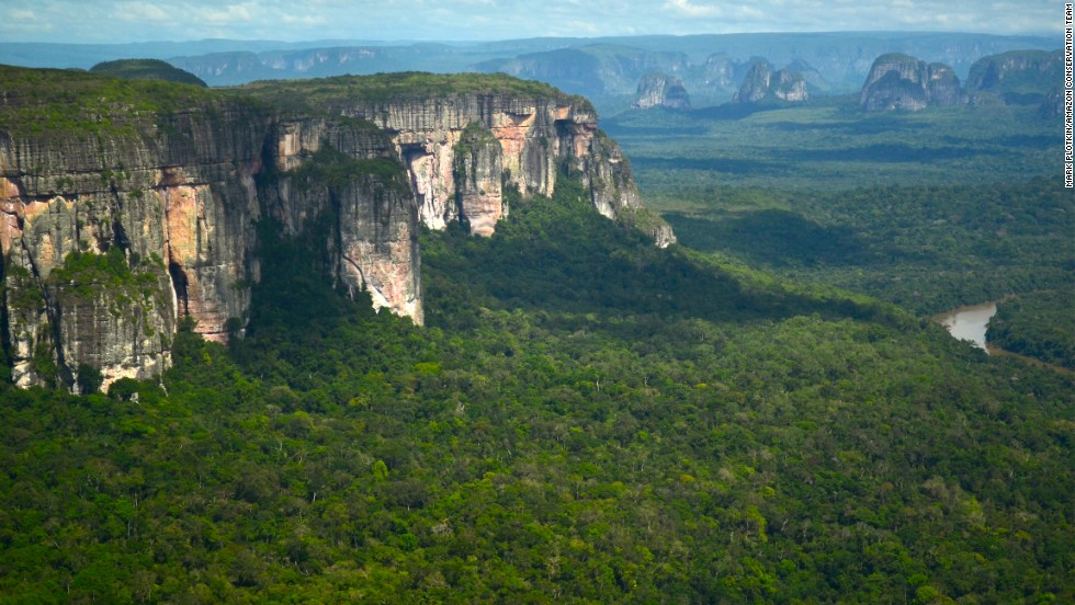 Chiribiquete National Park, recently expanded by the Colombian government, is home to three uncontacted tribes and numerous undocumented medicinal plants.