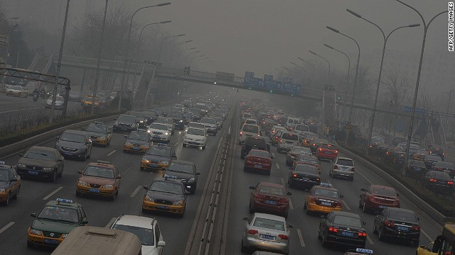How pollution affects weather patterns