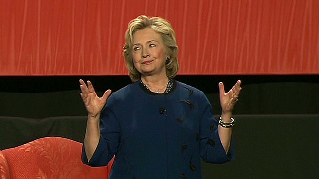 Hillary Clinton hinting at her 2016 run?