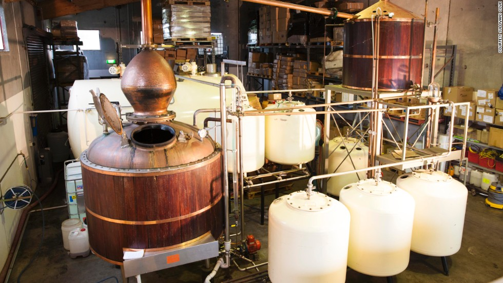 """The right attitude for us is quality,"" says Sullivans Cove chief distiller Patrick Maguire. ""We're growing, but we'll never be a giant distillery."" With an output of just 20,000 liters a year, Maguire says it's difficult to meet domestic demand."