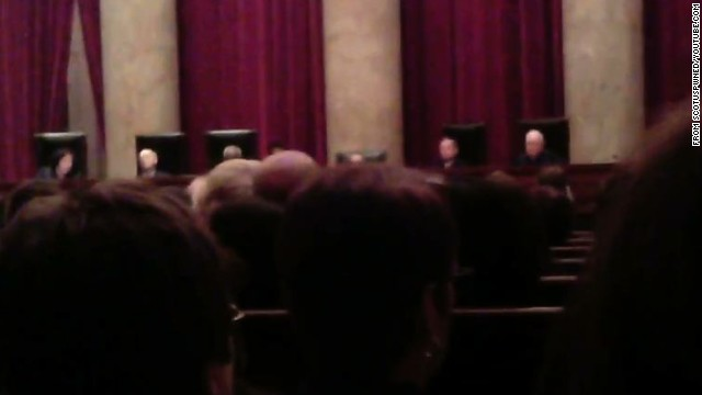 First ever video inside Supreme Court?