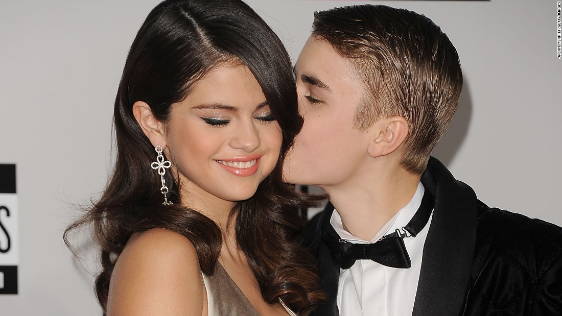 "Opinions may differ on these two, but we thought they were a cute match. <a href=""http://marquee.blogs.cnn.com/2011/09/26/bieber-takes-over-staples-center-for-date-night/?iref=allsearch"">Justin Bieber swept the slightly older Selena Gomez off her feet</a>, and the two were <a href=""http://www.eonline.com/news/518860/omg-justin-bieber-reunites-with-selena-gomez-after-he-storms-out-of-deposition-get-the-scoop"" target=""_blank"">on and off </a>for a while. Although their relationship appeared to end for good in 2013, they spent an awful lot of quality time together in 2014 before finally going their separate ways."