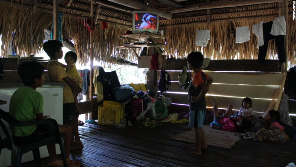 While clearly impacted by the modern world -- there are the occasional televisions and radios -- the lifestyles of many native tribal communities who call the Yasuni home are not far removed from the traditions followed by their ancestors.