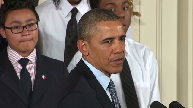 Obama: America cares about men of color