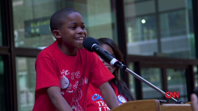 3rd grader to Rahm: 'We are not toys'