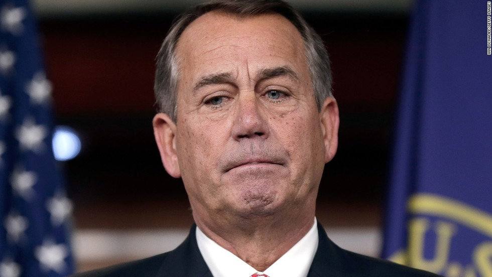 "House Speaker John Boehner said in December 2013 that conservative groups aligned with the tea party have ""lost all credibility."""