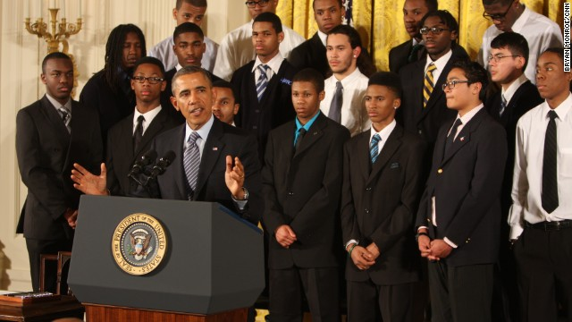 Obama looks to help young men of color