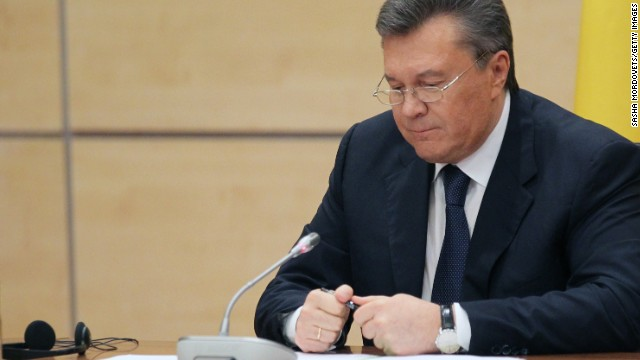 Fmr. Ukraine Pres.: I was not overthrown