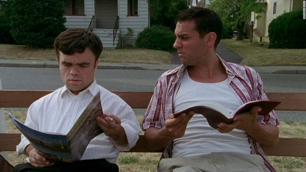 "Before ""Game of Thrones"" came knocking, Peter Dinklage, left,  finds fame in 2003 starring in ""The Station Agent"" with Bobby Cannavale."