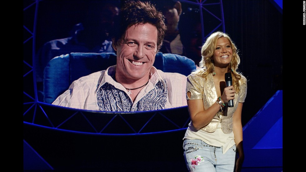 "The action centers around a singing competition in 2006's ""American Dreamz"" which stars Hugh Grant and mandy Moore."