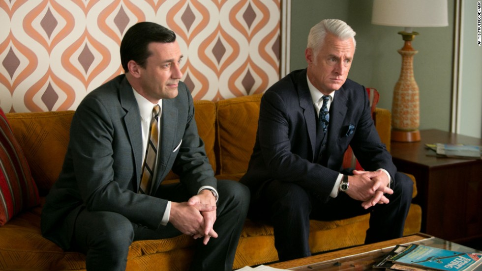 "Fans will be mad for Season 6 of ""Mad Men"" starring Jon Hamm and John Slattery."