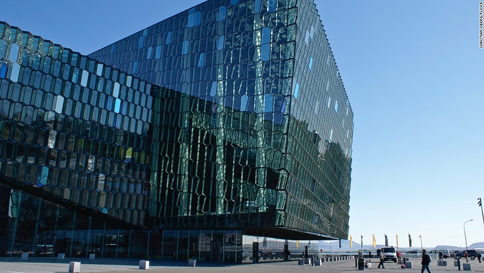 "The opening concert at Harpa on May 4, 2011 featured Beethoven's 9th symphony.""Harpa"" is an Icelandic female first name, meaning ""harp."" <strong>Architects:</strong> Batteríið Architects, Henning Larsen Architects."