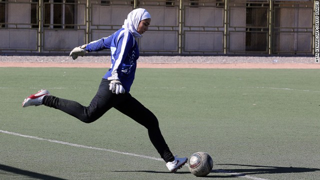 Following a trial period, FIFA have officially sanctioned the wearing of religious headscarves on a football pitch.