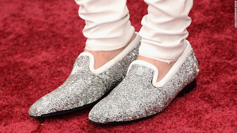 Johnny Weir's shoes