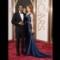 17 oscars red carpet - Chiwetel Ejiofor and Sari Mercer