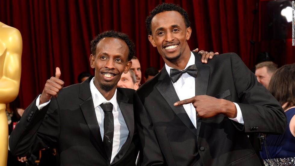 Barkhad Abdi, left, and Faysal Ahmed