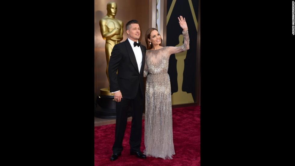 Brad Pitt and Angelina Jolie