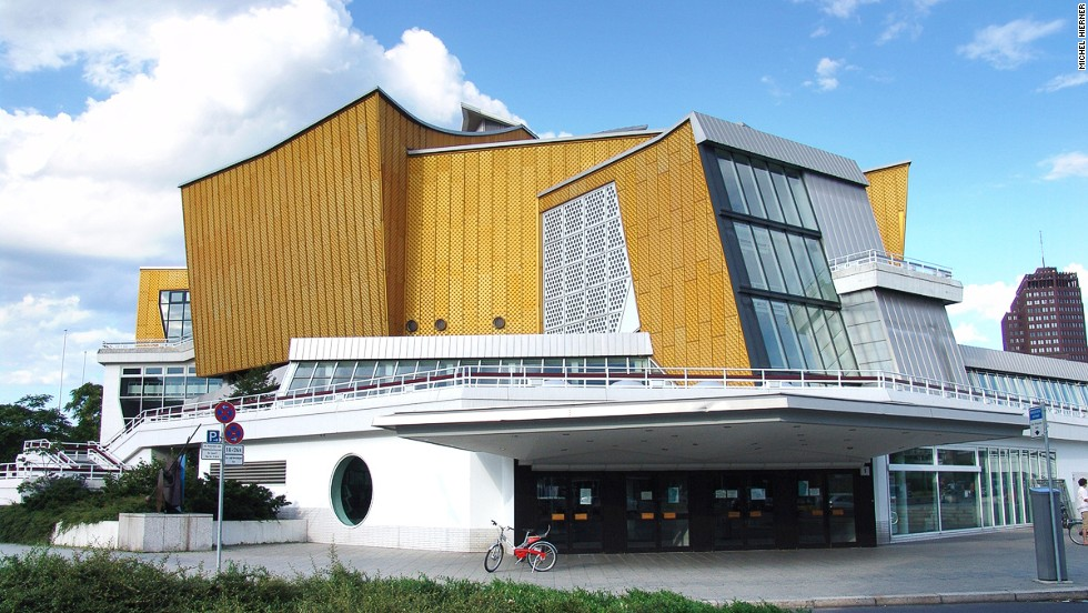 "The great hall has 2,440 seats while the chamber music hall has 1,180 seats. ""The Philharmonie is an excellent example of post-war modernism,"" says the report. <strong>Architect: </strong>Hans Scharoun."