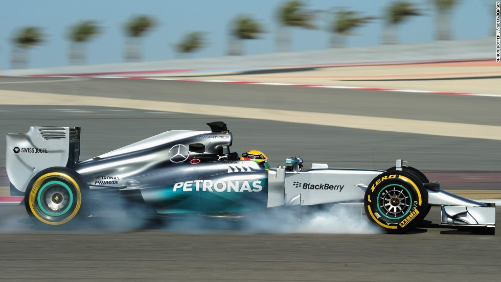 Meanwhile Lewis Hamilton enjoyed a successful weekend in Bahrain, the venue for the final preseason test of 2014. The Mercedes driver, who is about to start his second season with the German team, set the fastest lap time on Sunday.