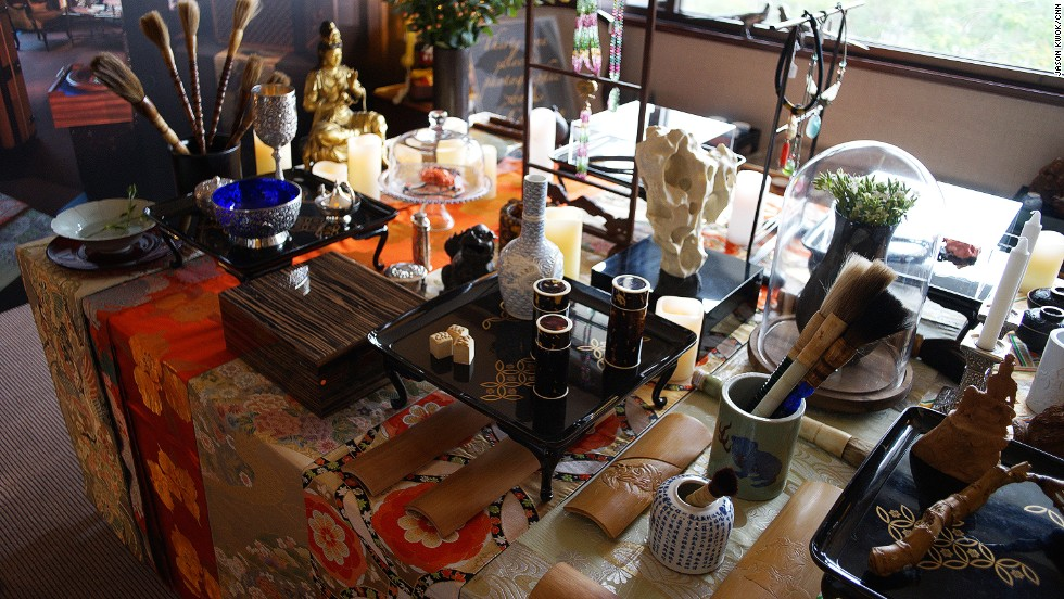 "Alan Chan created a miniature version of his showcase ""Home Away From Home."""