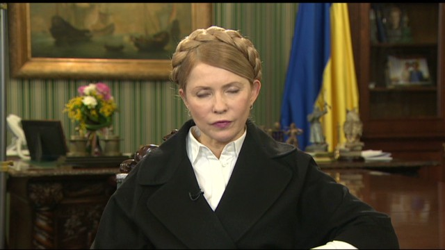 Tymoshenko on Russian draft annex bill