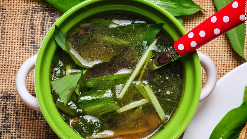"""<strong>Slurp your appetizer </strong><br /><br />Before you dive into your entree, have some soup. Though it may seem counterintuitive to add more to your meal, research shows that starting a meal with soup may help you reduce your overall calorie intake. In a 2007 study, people who ate soup before their lunch entree reduced their total calorie intake by 20%. Your best bet: a broth-based soup, preferably with veggies to help you feel full from the natural fiber, says Young. Here are a few <a href=""""http://www.health.com/health/gallery/0,,20530268,00.html"""" target=""""_blank"""">healthy soup recipes</a> to get you started. <br />"""