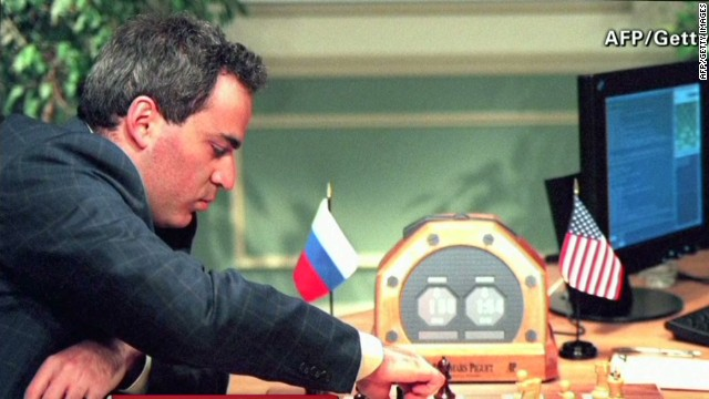 Garry Kasparov:This isn't Cold War chess