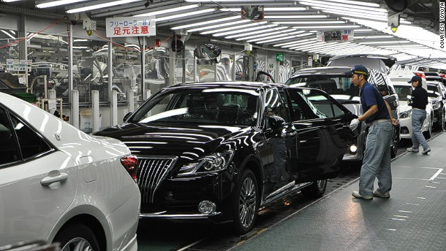To keep workers engaged and alert, Toyota production lines aren't dedicated to a single model.