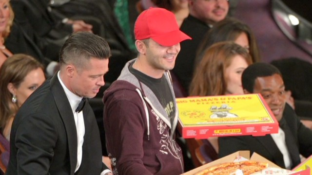 Oscar pizza deliverer: I was shocked