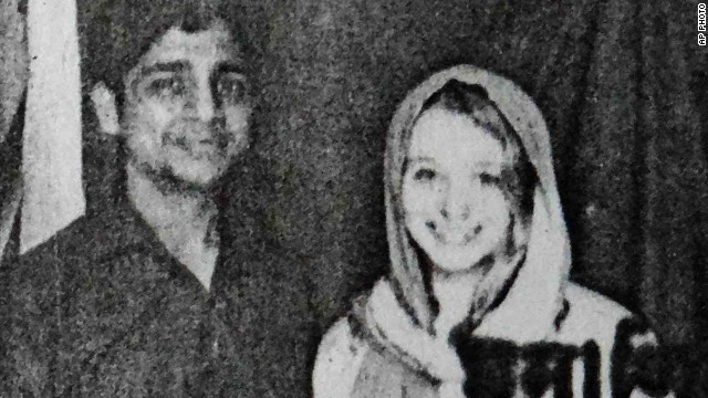 Indian rickshaw driver Bunty Sharma, pictured left in this undated police handout,  killed his wife Erin Willinger before blowing himself up in his home.