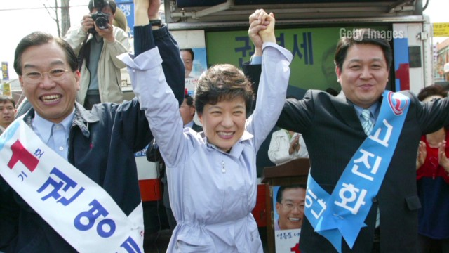 Meet S. Korea's first female president