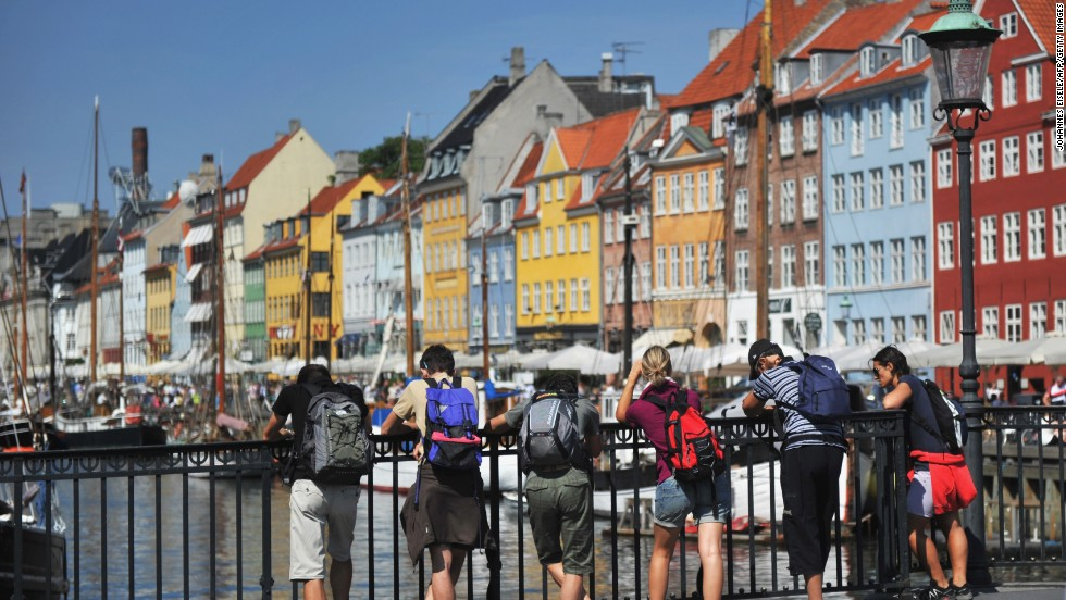 Denmark notched up GDP per capita of $58,930 last year.  The Scandinavian nation finished seventh in the World Bank's rankings.