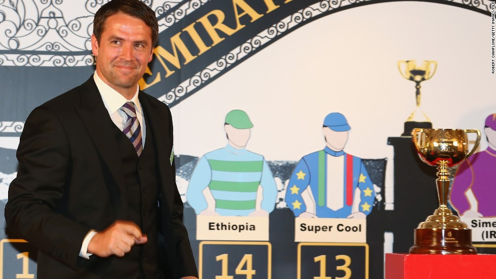 Owen attended last year's Melbourne Cup, where Brown Panther finished eighth.