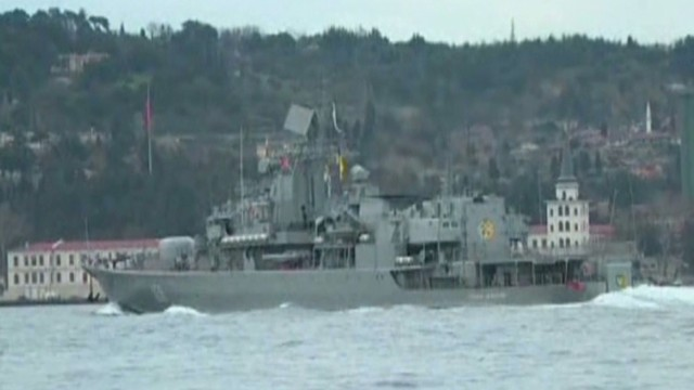 Ukrainian, Russian Warships on the move
