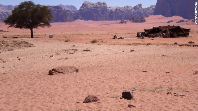"Yep, you saw Wadi Rum featured in ""Lawrence of Arabia."" You did see it, right?"