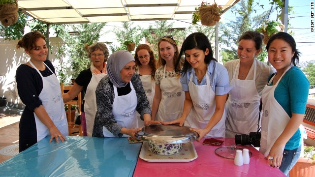 Beit Sitti offers cooking classes in Jordan's culinary capital of Amman.