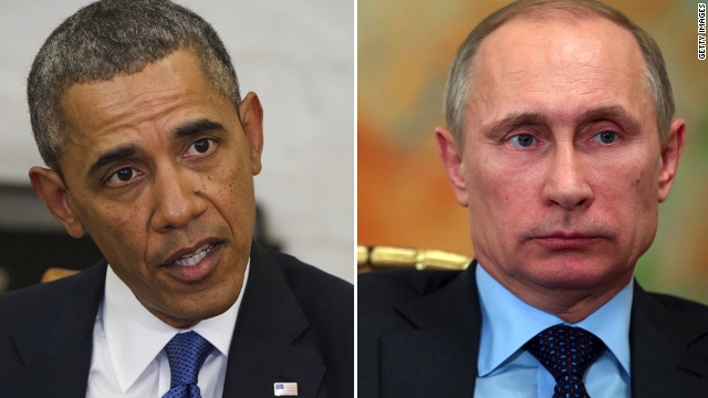 Putin calls Obama to discuss Ukraine