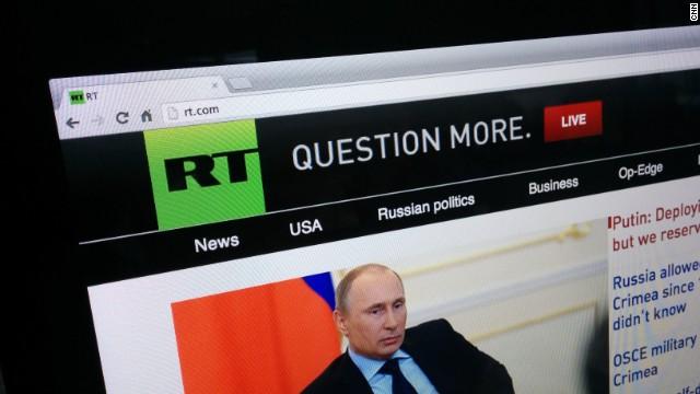 Russian TV personality supports Putin