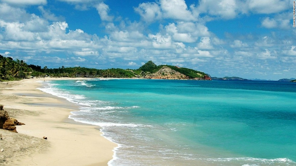 Grenada's cost runs about $6,622 for the same trip.