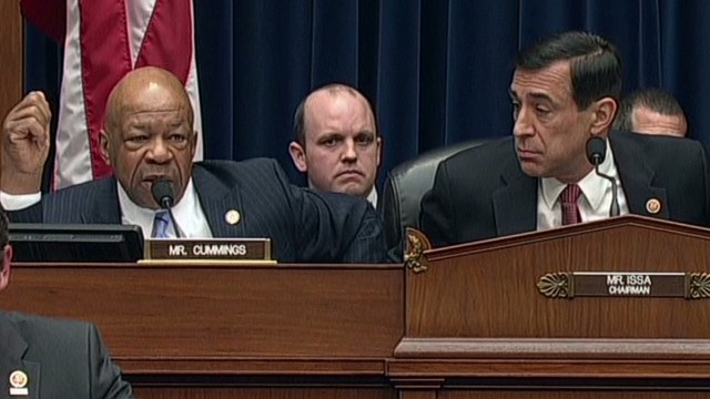 Tension between congressmen Darrell Issa and Elijah Cummings during a House Oversight hearing has led to the Congressional Black Caucus calling for Issa to be removed from his post as committee chairman.
