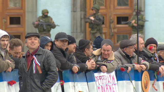 The face of Crimea's pro-Russian forces