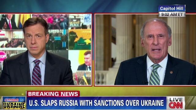 Senator: Putin's ambitions like Hitler's