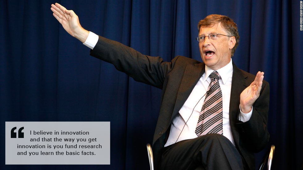 Bill gates burn quotes innovation
