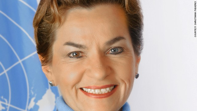 Christiana Figueres, Executive Secretary of the United Nations Climate Change secretariat