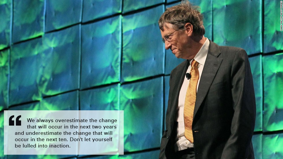 Bill gates burn quote underestimate