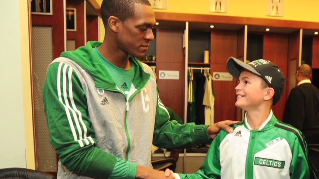 Boy's final sight wish: See Celtics