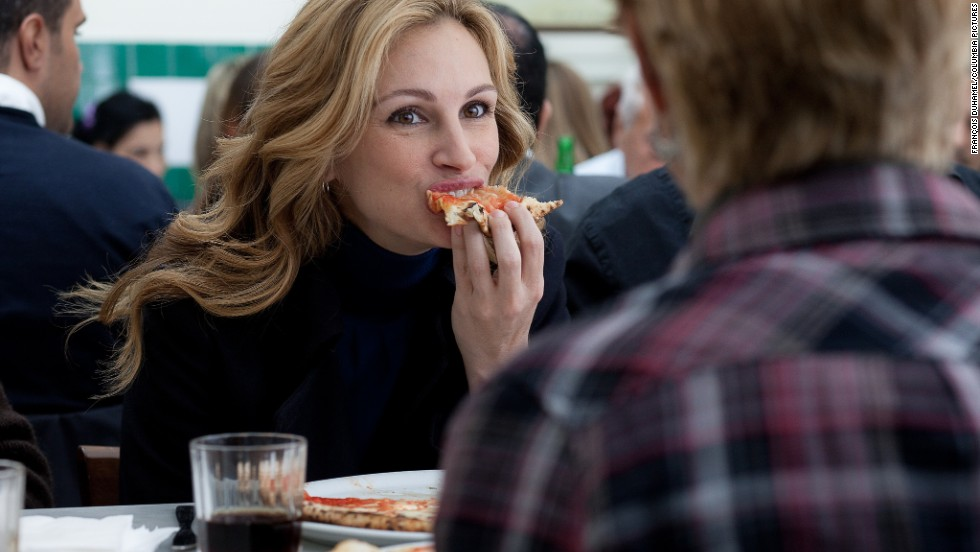 "<strong>""Eat Pray Love"" (2010): </strong>Julia Roberts eats her way to serenity abroad in this ode to self-discovery based on the book by Elizabeth Gilbert."