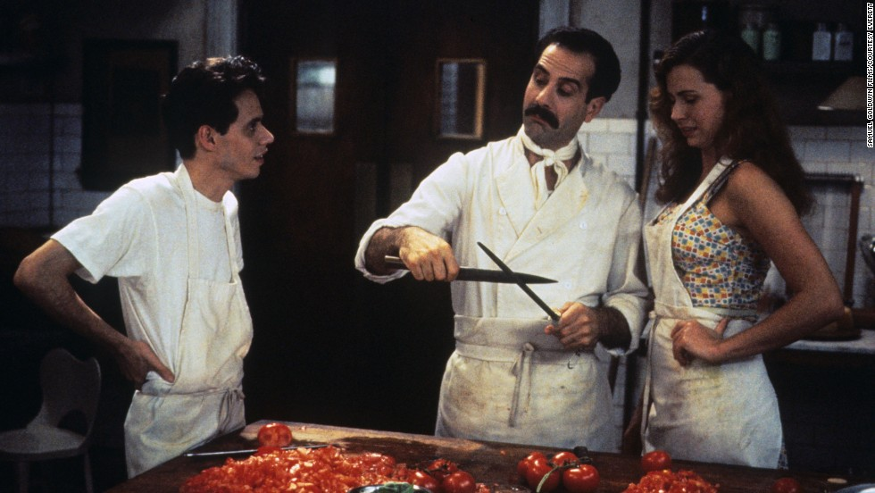 "<strong>""Big Night"" (1996<strong></strong>):</strong>  Abbondanza!  This film starring Marc Anthony, Tony Shalhoub and Minnie Driver is loaded with carbs and involves a failing Italian restaurant that has a single night to turn it all around."