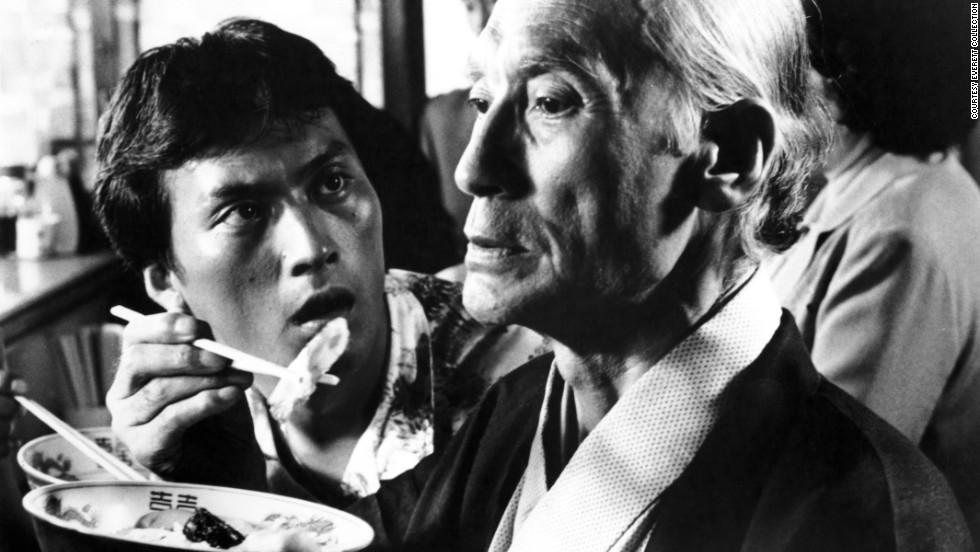 "<strong>""Tampopo"" (1985<strong></strong>):</strong>   Ken Watanabe and Ryutaro Otomo star in this Japanese comedy that is beloved by fans of ramen noodle soup."